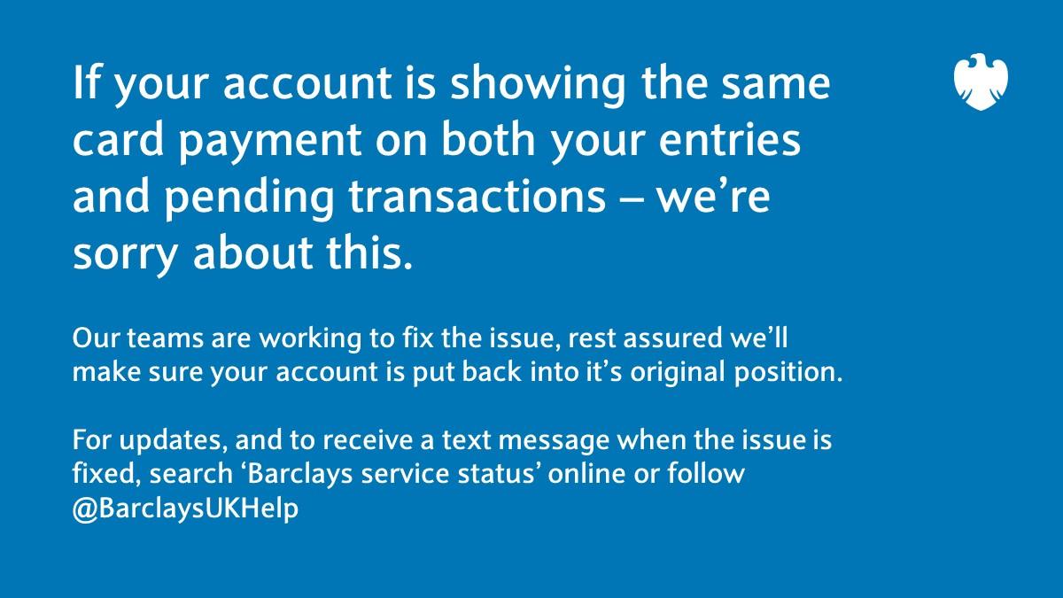 Barclays Uk Help Barclaysukhelp Twitter