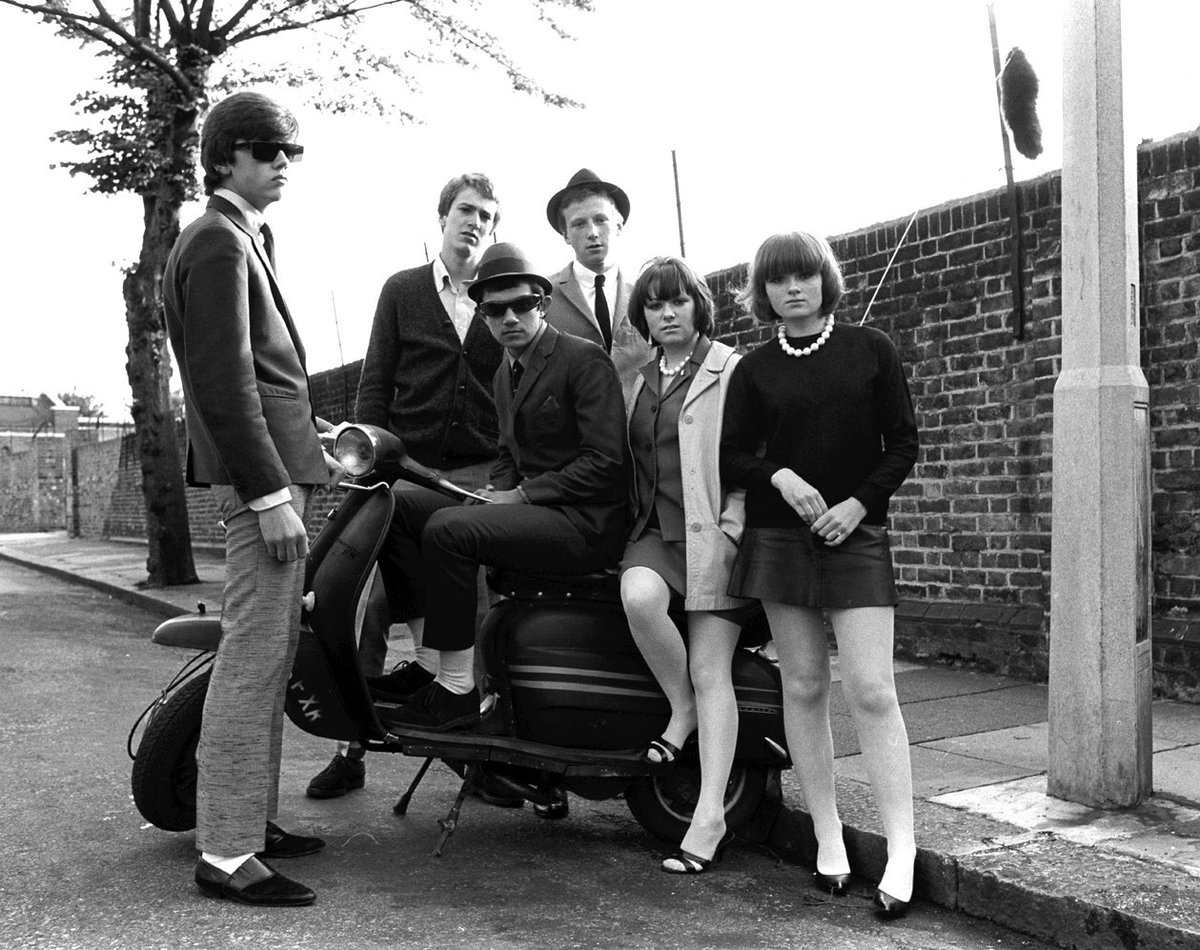 Mod Revival. Young mods in Streatham, South London, late 1970s. From our feature with photographer Janette Beckman. britishculturearchive.co.uk/2020/06/30/jan…