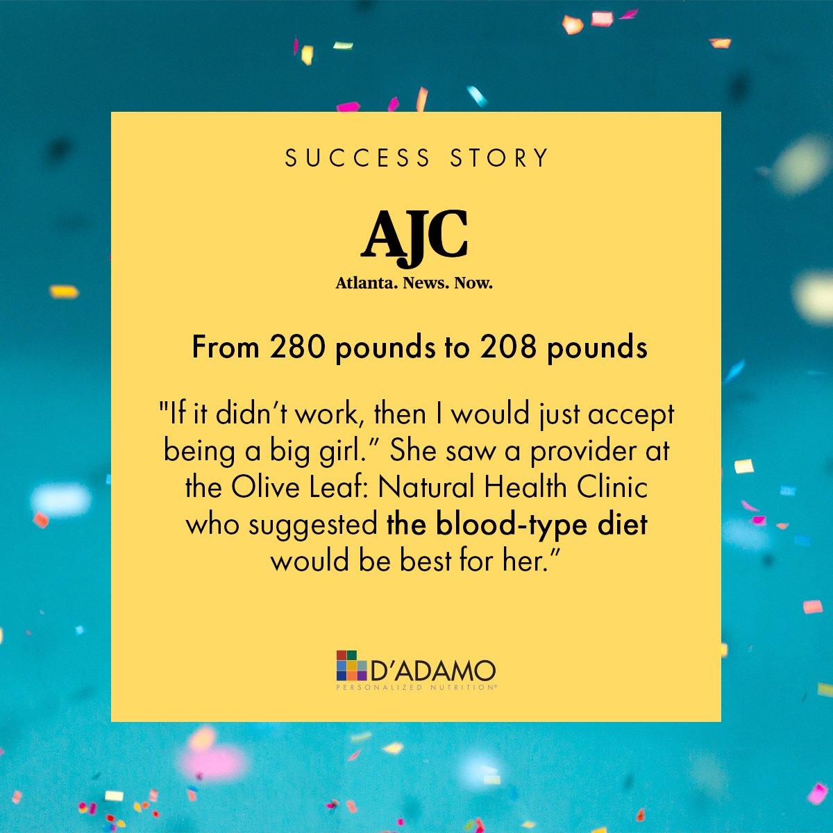 blood type diet atlanta