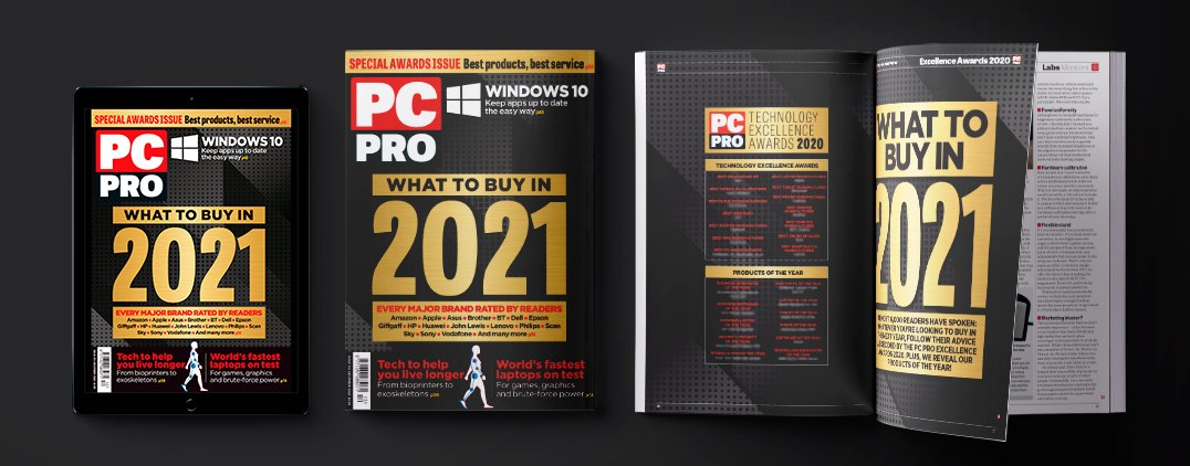 Kudos to @GarminUK for winning the Best Smartwatch Manufacturer 2020 award, based on feedback from PC Pro readers - and beating Apple into second place.  Do the smart thing and pick up the new issue of PC Pro, on sale today, to find out why. https://t.co/qD8h97HOM3