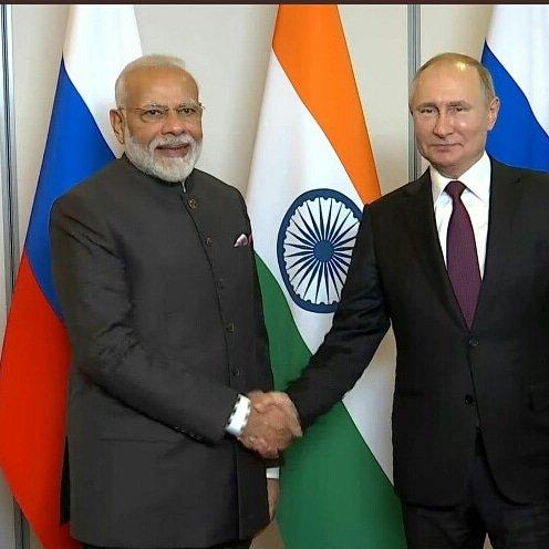 Happy birthday to our dear Prime Minister Mr. Narendra Modi, dear friend President Vladimir Putin.