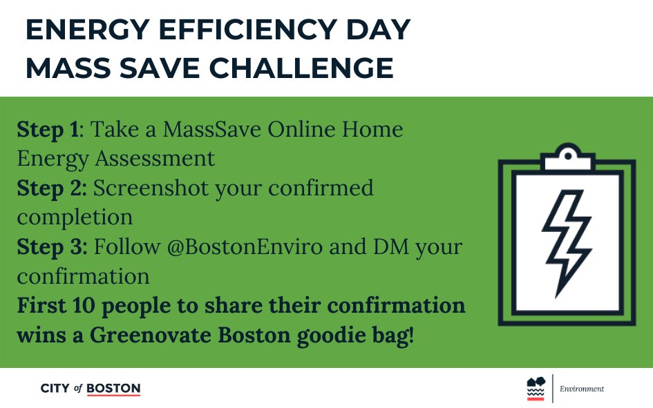 City Of Boston On Twitter You Can Also Join Us In Celebrating Eeday2020 By Participating In The Masssave Challenge Take The No Cost Online Home Energy Assessment And Dm A Screenshot Of Your You've made the teaching house boston is located at faneuil hall, one of the most popular historic attractions in the. twitter