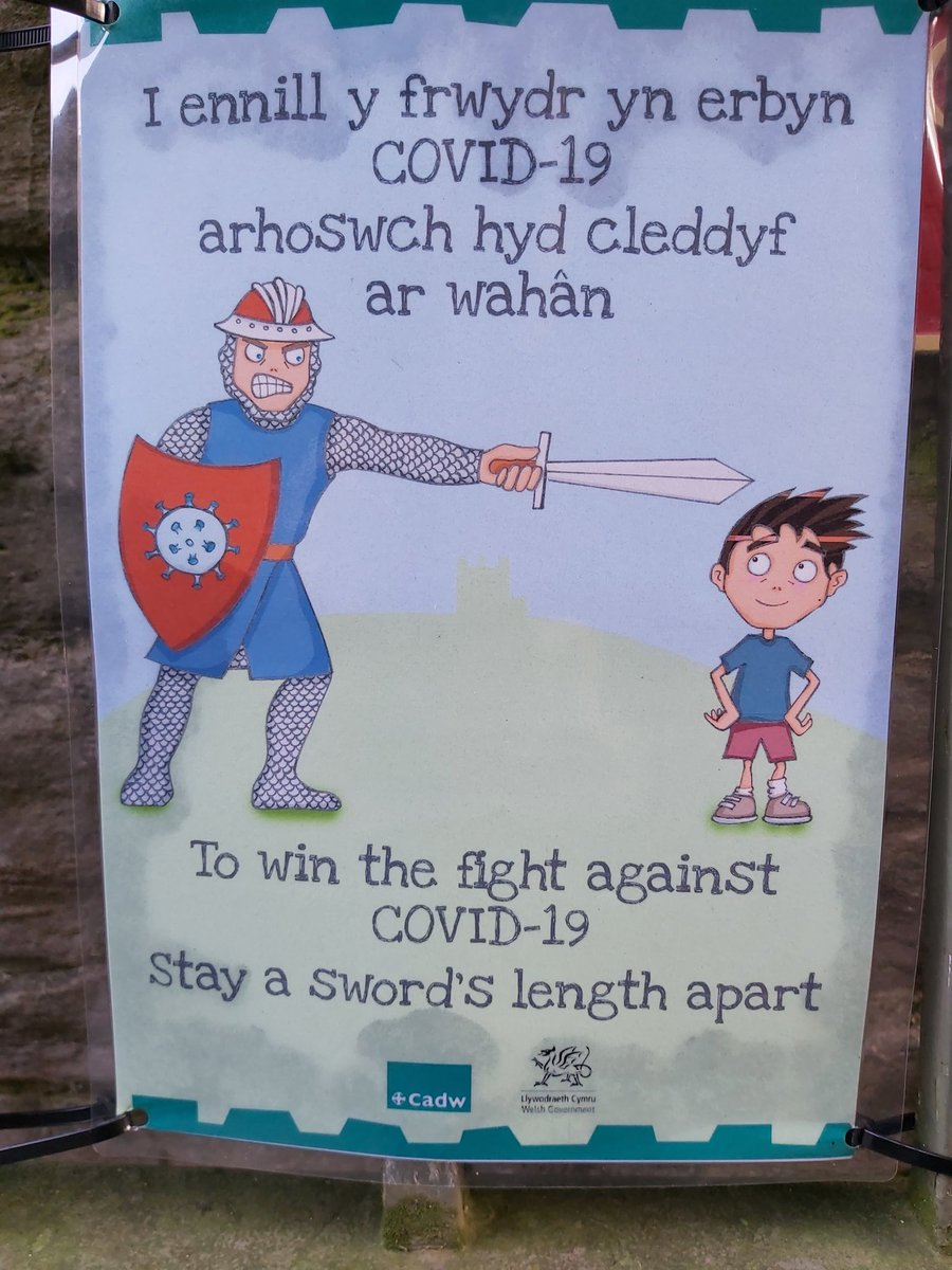 Well done @cadwwales - creative #comms.