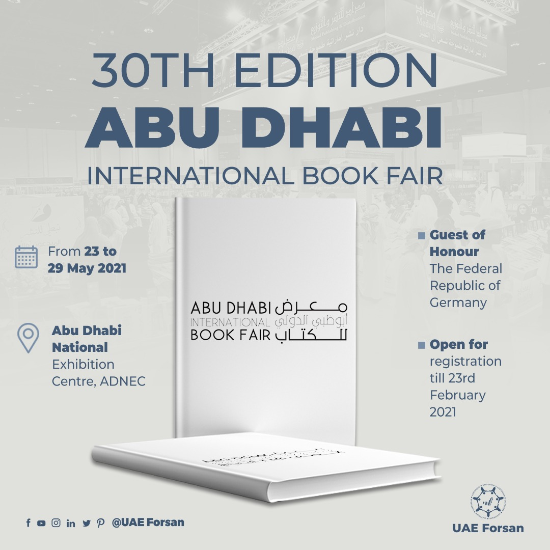 A look at #AbuDhabi International Book Fair 30th Edition #ADIBF #Reading #Books #Culture #InAbuDhabi #CulturAll @ADIBF https://t.co/pzYVJOVyYD