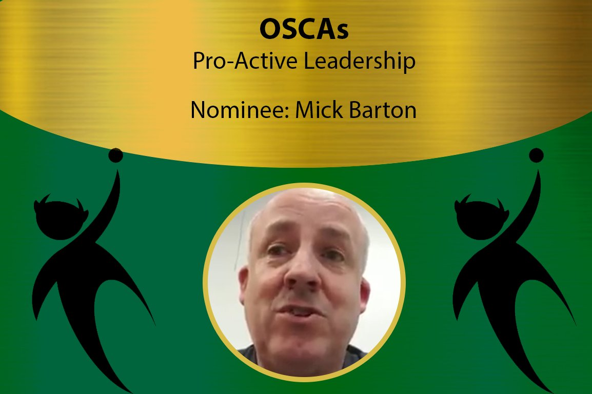 Celebrating our volunteers month - Part 2  Tonight we celebrate Mick Barton's tireless work in the Proactive Leadership Category Please see the article below to find out more ⬇️  https://t.co/nYGFbS1GQG https://t.co/eFgcduBB4a