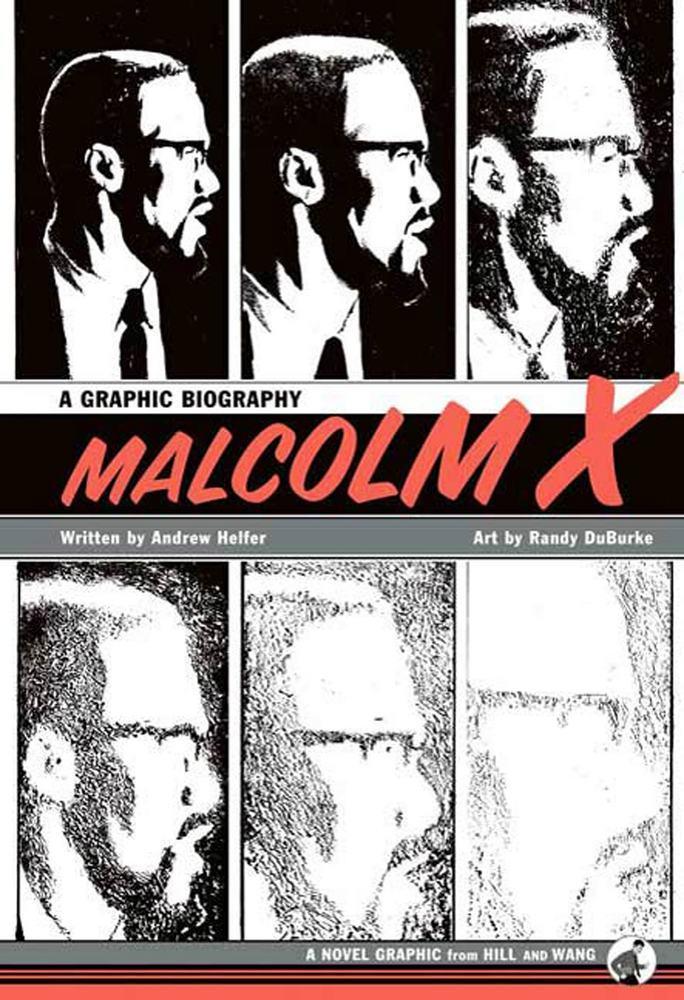 #comics #celebratingblacklives: #MalcolmX #graphicbiography by #AndyHelfer & https://t.co/83SxBhkkC7 from @MacmillanUSA: https://t.co/e0X6pefc20. #blackcomics #blackartists #blackhistory #civilrightsmovement #BLM https://t.co/FNWfNXyekz