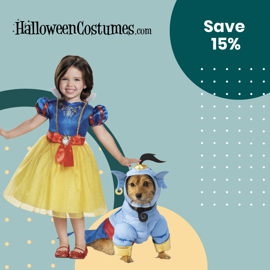 Exclusive Deal: Get 15% off your entire order at Halloween Costumes  Click here for the deal: https://t.co/cBMzEgtO3x  #halloweencostumes #exclusive #exclusiveoffer https://t.co/4ufnDiozc8