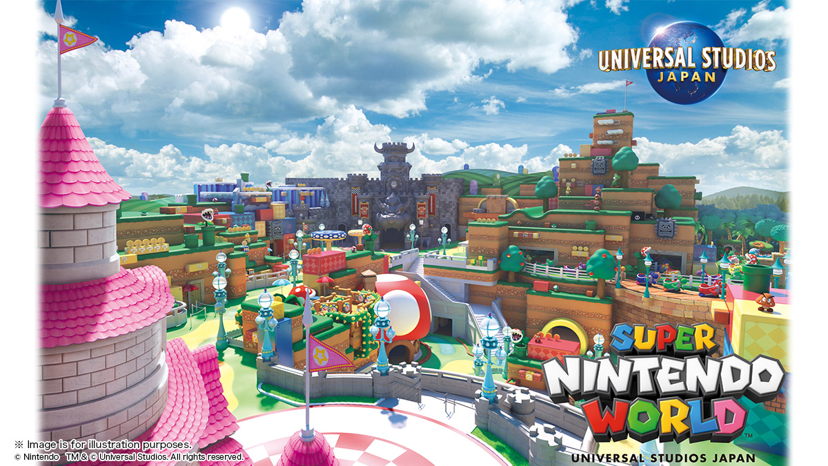 Super Nintendo World Opens at Universal Studios Japan in Early 2021