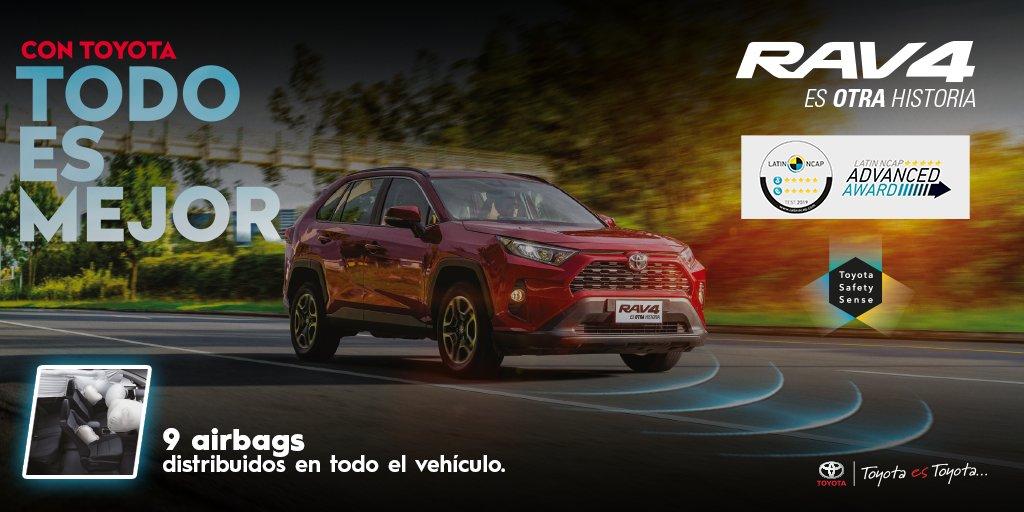 #ConToyotaTodoEsMejor conoce la tecnología del  #ToyotaRAV4  ¿Qué es Safety Sense?: Sistema  de tecnología avanzada que incorpora un radar de ondas milimétricas combinado con una cámara monocular para detectar peligros  👉 : https://t.co/C6Qyt27k1h  . #Toyota #NuevoRav4 https://t.co/u4F1fzDLOQ