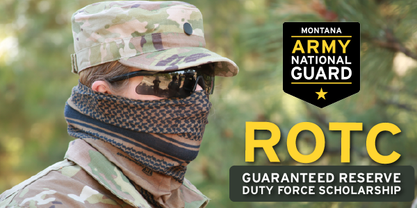 Double-dip your educational benefits with the Guaranteed Reserve Duty Force Scholarship. This 2-year scholarship is exactly what it sounds like: commission into a reserve force upon graduation.  For more information visit:  #military #ROTC