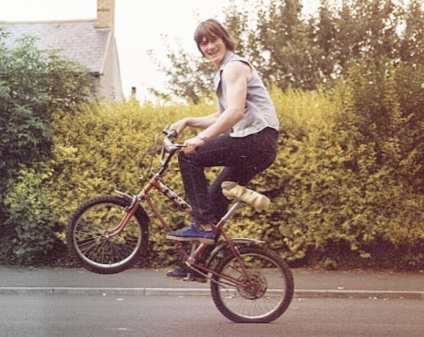Grifter Action. Llanbradach, South Wales, 1982. Photo submitted by Alan Davies. #thepeoplesarchive