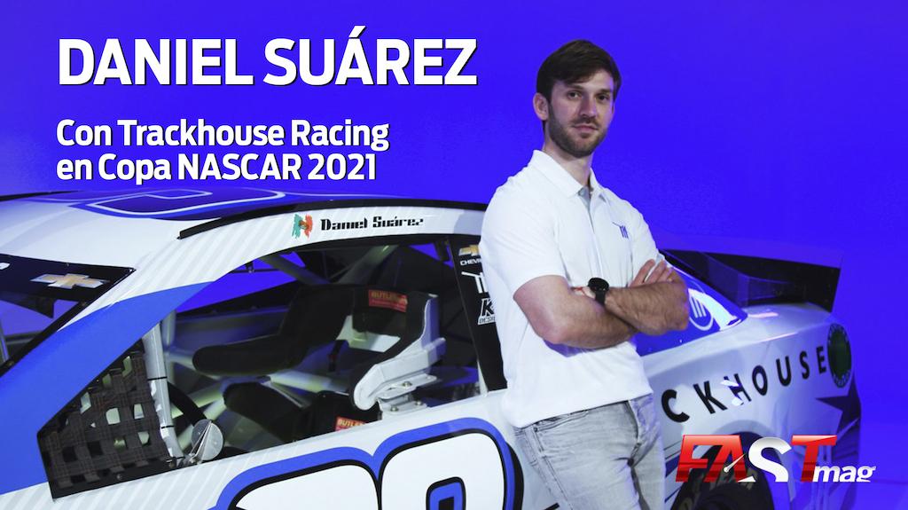 ¡EN EXCLUSIVA!  Platicamos con @Daniel_SuarezG sobre su equipo nuevo en Copa #NASCAR: @TeamTrackhouse, de @JustinMarksDG, que debutará en la serie en 2021.  ¡No te la pierdas! —> https://t.co/1gfBcucnbZ https://t.co/3G50L5RGZe