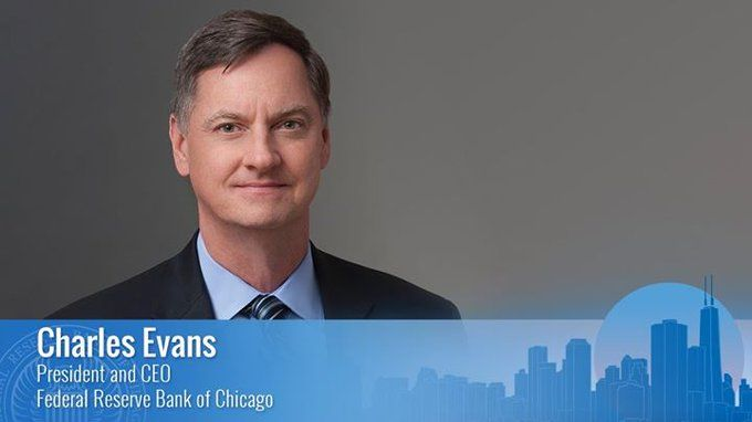 "Today, @ChicagoFed President Charles Evans delivered a speech titled ""An Uneven Recovery and the Path Ahead"" during a virtual event hosted by the Metals Service Center Institute. Read the full text: https://t.co/XvOUNmVfkz @MSCITweets https://t.co/QyQgpfX5Vs"