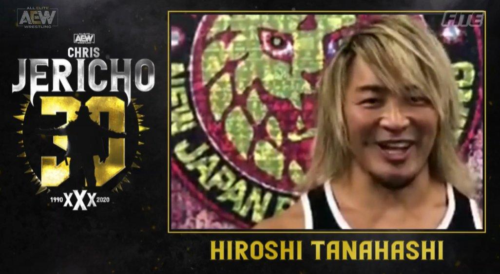Miren la leyenda que saludó a Jericho en AEW Dynamite. ¿Se vendrá su alianza loca por ahí?