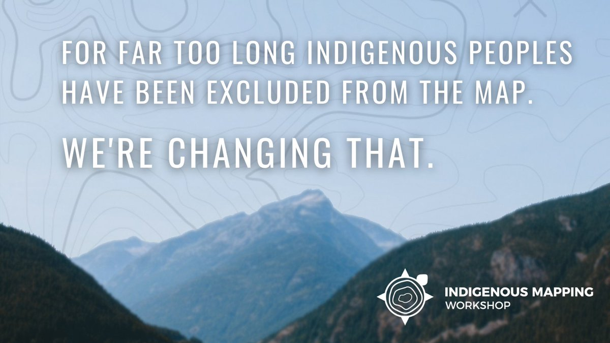 We're building capacity and giving #Indigenous peoples the opportunity to #decolonize place and space at #2020IMW. You can develop your skills with #geospatial technologies and learn from fellow Indigenous mappers and experts in the field. Register today: https://t.co/5Nqo9m1TcQ https://t.co/mhvfWpwGPE