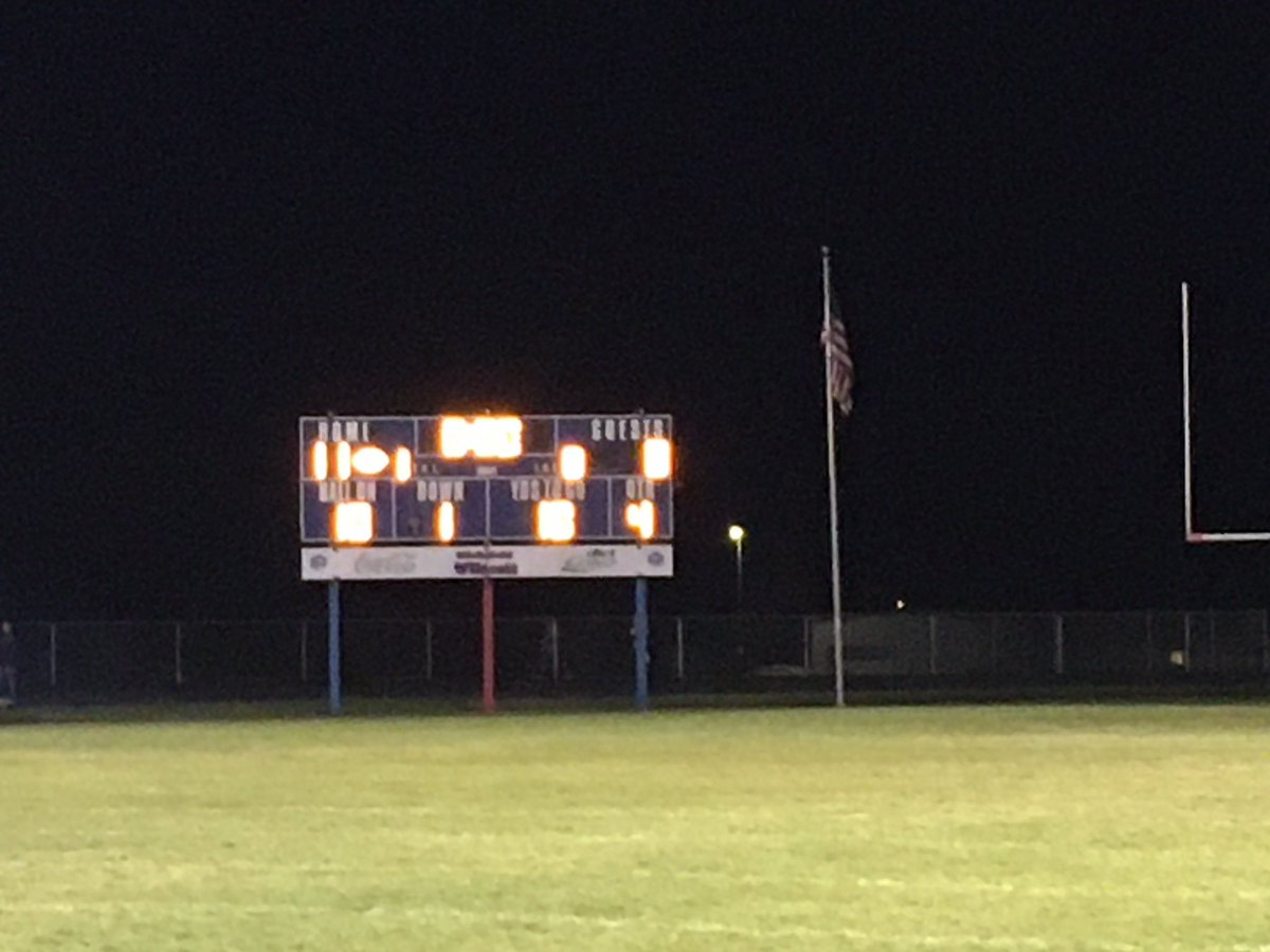 Seniors with the 11-8 win. A field goal was the difference.