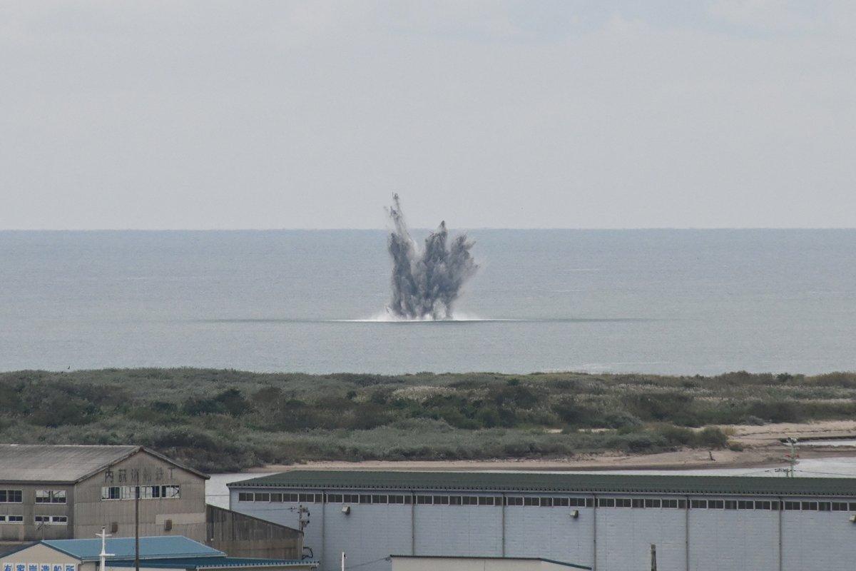 酒田市からのお知らせ】酒田港海底で発見された米軍の爆弾と推定される ...
