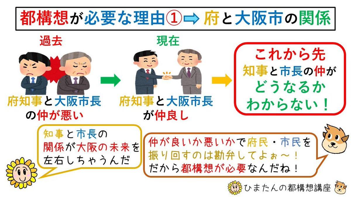 大阪 都 構想 デメリット