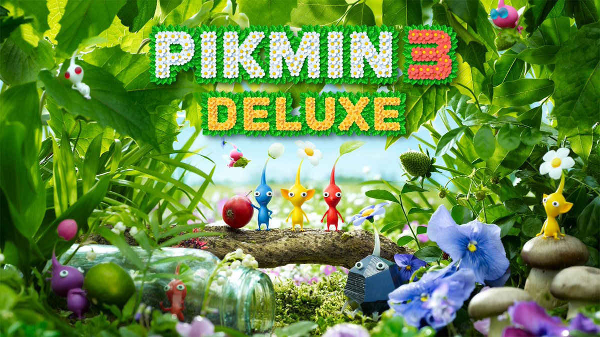 RT + follow @Nintendeal for your chance to win Pikmin 3 Deluxe for Nintendo Switch!  Tag a friend!  ✅ Winner selected October 30 ✅ Open worldwide