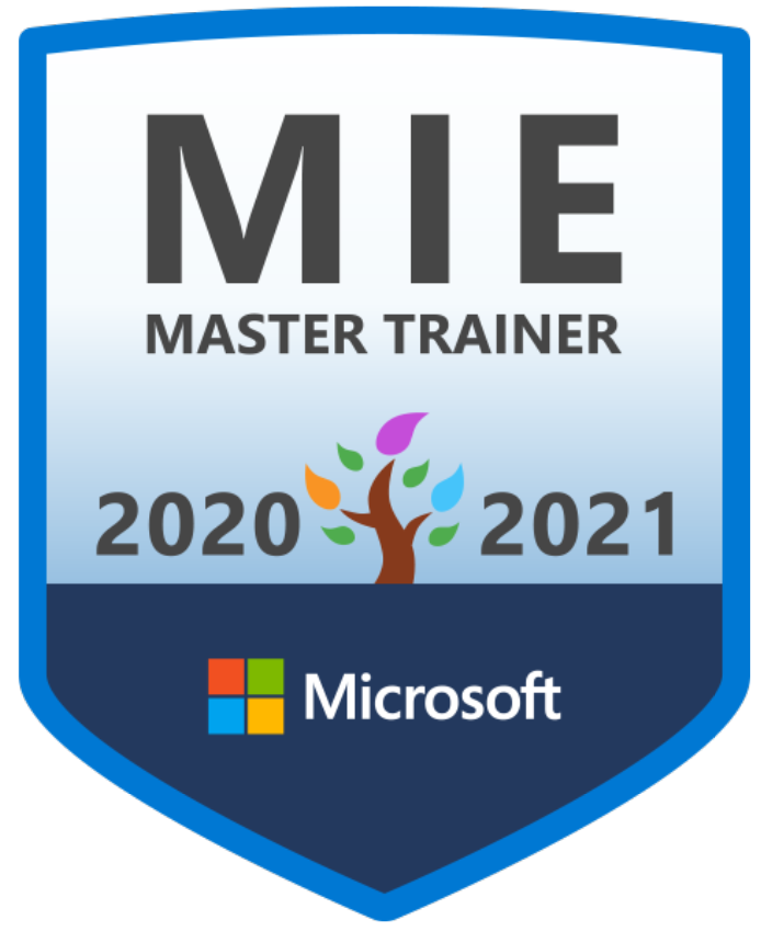 Happy to add this badge to my collection #MIEExpert @MSEducationUK