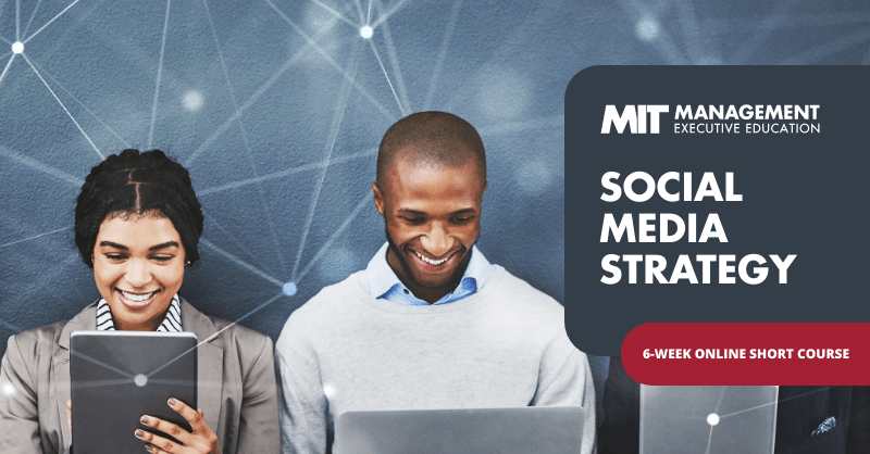 Gain a definitive guide to strategically leverage social media for engagement, influence, and action with a new course from @MITSloanExecEd. https://t.co/hIe7KIbHpr https://t.co/VnsWr3fE5j