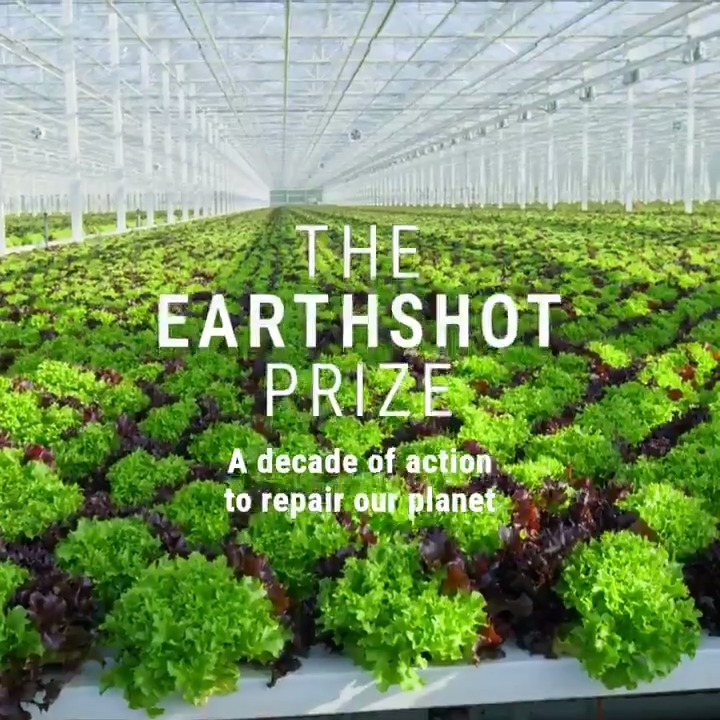 Introducing The Earthshot Prize, the most prestigious global environment prize in history.  This new global prize for the environment will incentivise change and help to repair our planet over the next ten years – a critical decade for the Earth.