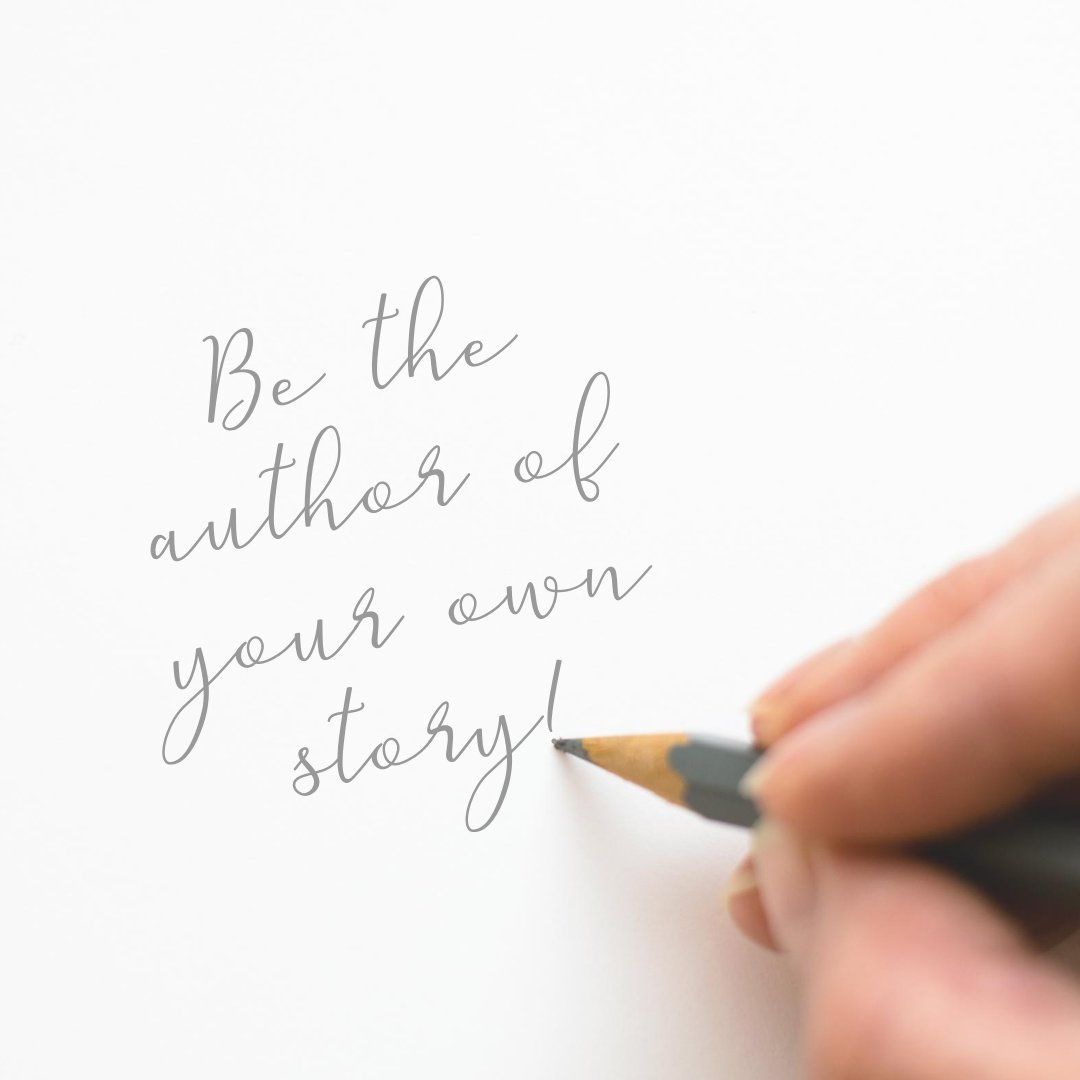 Be the author of your own story, are you taking charge of how you want your life to go?  #beaconsfieldcounsellor #counsellingbeaconsfield #Counsellor #counselling #bereavementsupport #therapy #anxiety #depression #beaconsfield #highwycombe #wooburngreen #amersham https://t.co/dZqP6ZpJhl