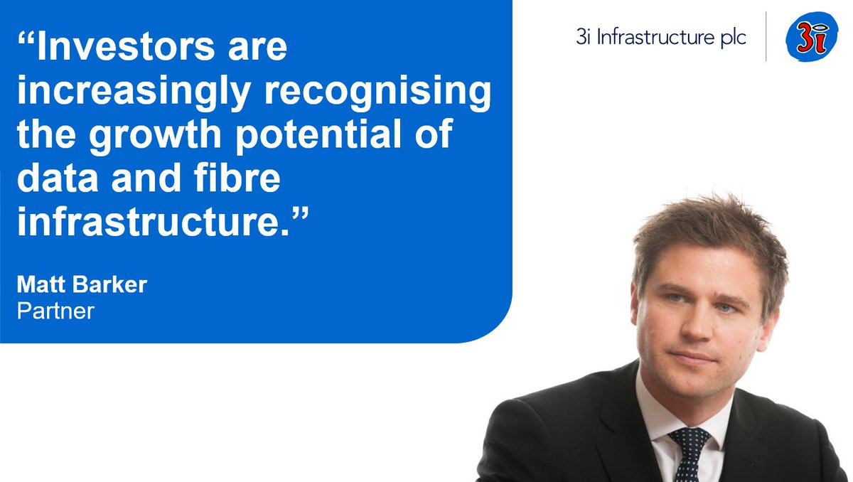 Investors are increasingly recognising the growth potential of #data & fibre infrastructure, and it is no longer just incumbent telecoms that are funding such projects. 3iN's Matt Barker on why the sector has become the domain of #infrastructure investors: https://t.co/JMh5a6ybXc https://t.co/SOztJPYP9o