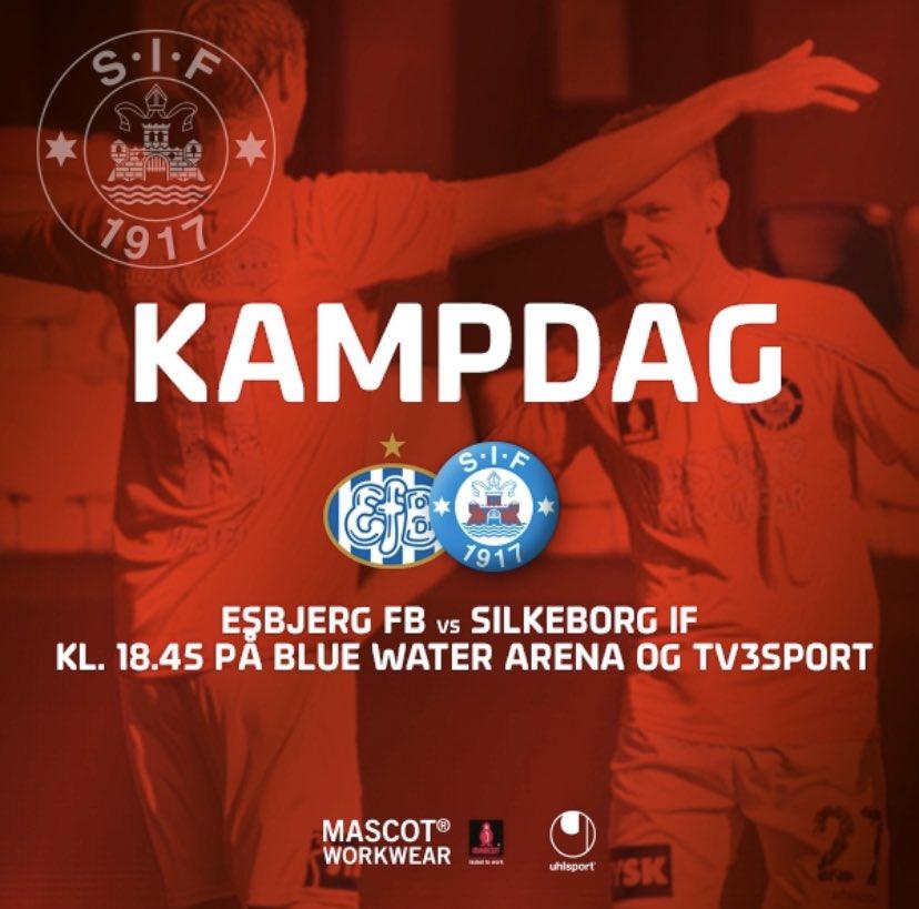 KAMPDAG: I aften spiller @SilkeborgIF i Sydbank Pokalen på udebane mod @EsbjergfB. Du kan forberede dig til kampen i SIF App'en:. Seneste nyt fra Esbjerg nu. Senere Magnus Mattssons minder fra '18-finalen og Start11. #efbsif #sydbankpokalen #2runde https://t.co/FQC3EuWtxz