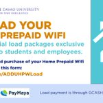 Image for the Tweet beginning: Reload your Home Prepaid Wifi
