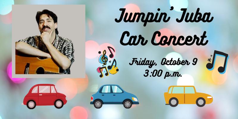 Franklin Library: Jumpin' Juba Car Concert - Oct 9