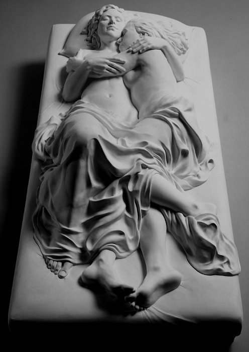 Memorial To A Marriage, 2002, sculpture by New York based artist Patricia Cronin #womensart #InternationalLesbianDay