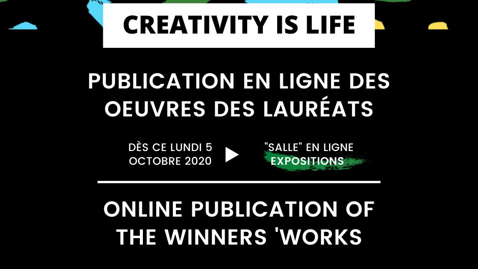 After two months of residency at home, the Creativity Is Life project is coming to an end and it's time to discover the works created by the grant winners!➡️https://t.co/rJugqhHkvj https://t.co/CmMp0reRy0