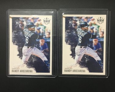 2020 Diamond Kings Randy Arozarena Lot  👉 $2.25 👉 https://t.co/g5kk0How8s  @HobbyConnector @mlbhobbyconnect @HiveCards @DailySportcards @sports_sell #tradingcards #collect #thehobby #postseason #raysup #tbvsnyy #arozarena #baseballcards #ratedrookie #whodoyoucollect #tampa https://t.co/yEuDRviU6n
