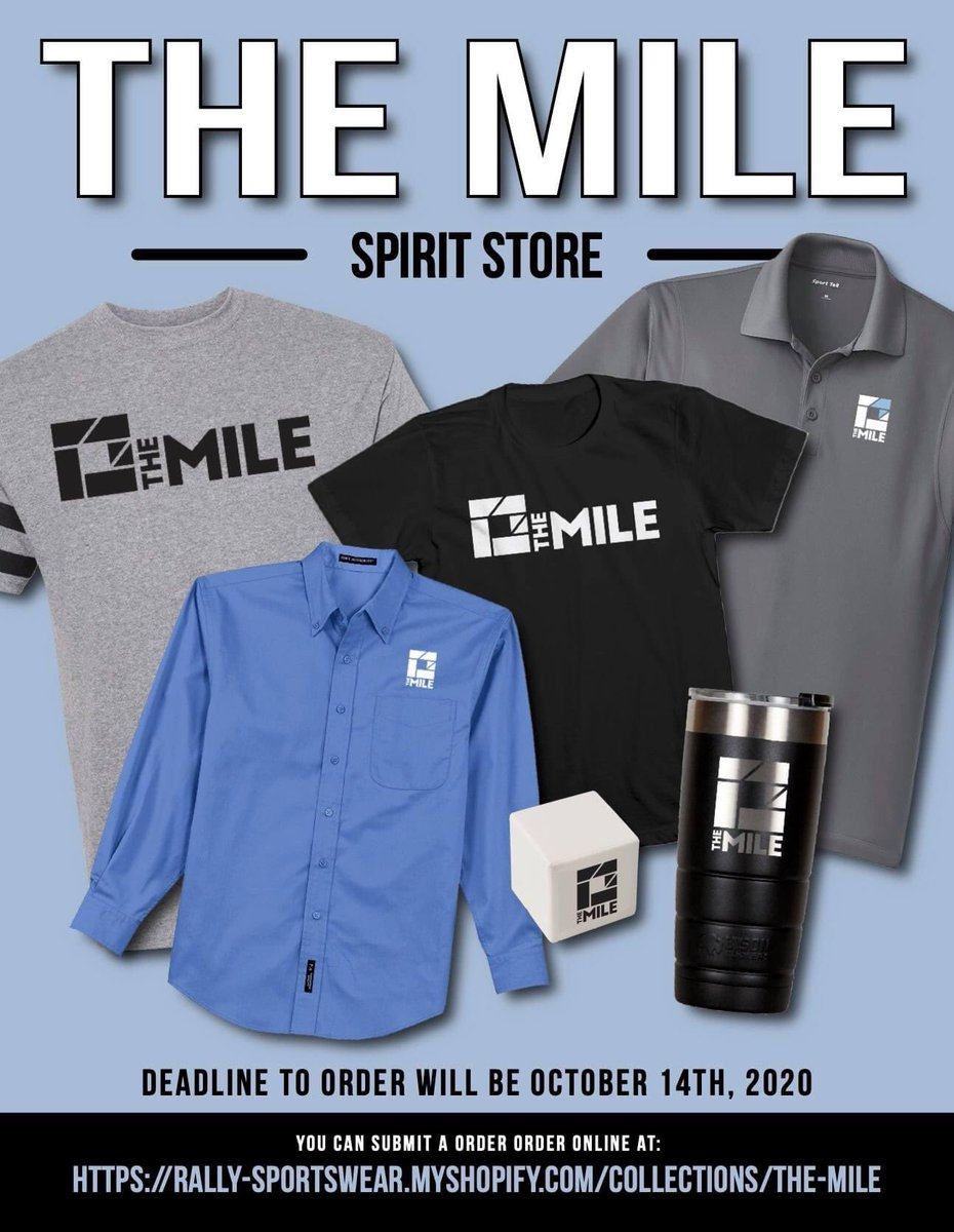 Get your MILE gear today! Click the link: rally-sportswear.myshopify.com/collections/th…