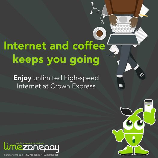 Sometimes life is tough! You will need #Internet and #coffee to keep you going. Get your #LimezonePAY bundle at Crown Express. #Freetown #SierraLeone https://t.co/NPVPNohLEs
