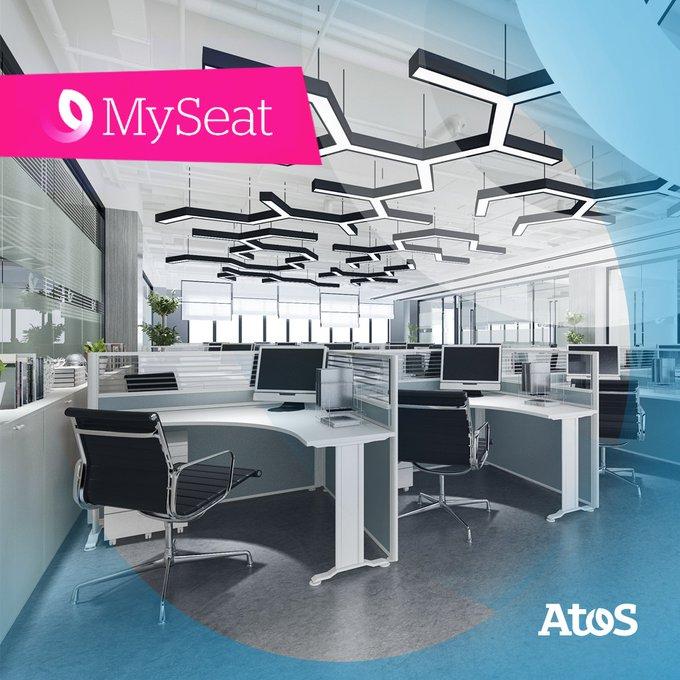 El futuro está aquí 😎 Te presentamos #MySeat, la nueva solución de Atos para...