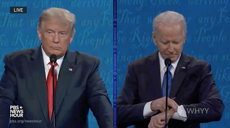 ".@RealDonaldTrump has the ball and @JoeBIden can't run out the clock. A #RedWave is coming ""big guy."" #Debates2020 https://t.co/EBimGNBHJr https://t.co/PwhQbySsql"