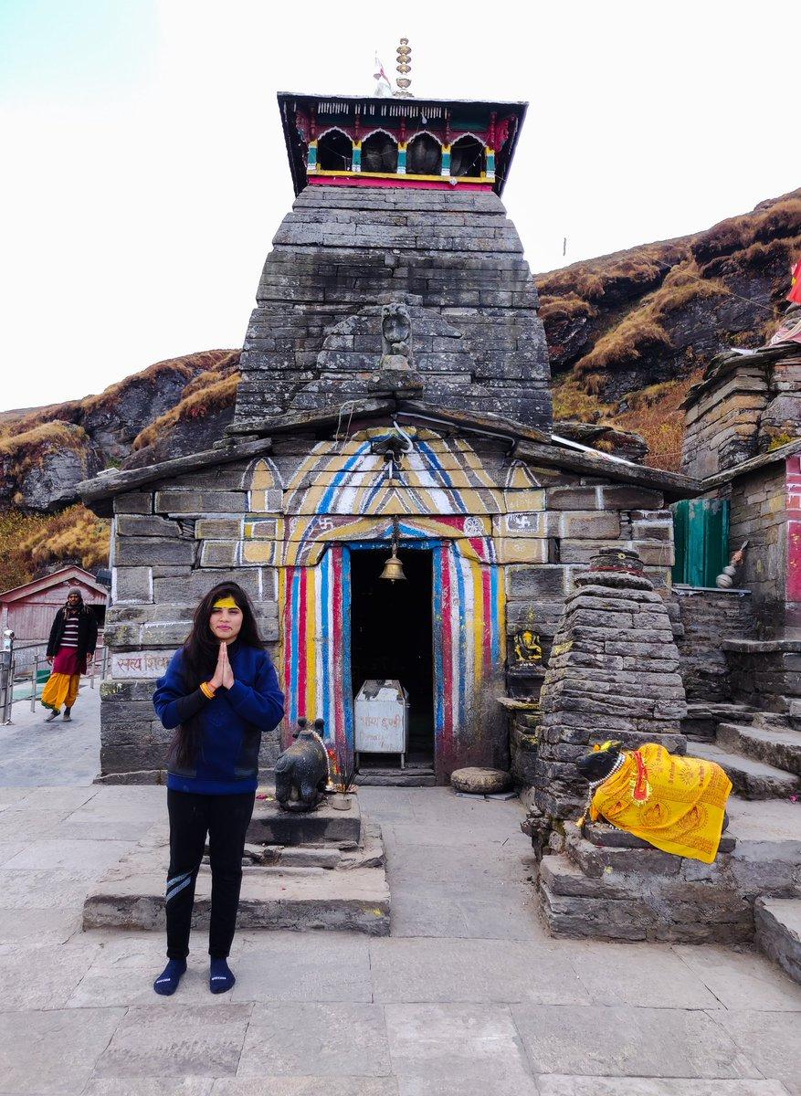 ತುಂಗನಾಥ - ಪಾಂಡವರು ನಿರ್ಮಿಸಿದ ಪಂಚಕೇದಾರಗಳಲ್ಲಿ ಒಂದು.  ರಾಮ ಕೆಲಕಾಲ ತಪಸ್ಸು ಮಾಡಿದ ಚಂದ್ರಶೀಲಾ ಪರ್ವತದ ಸ್ವಲ್ಪ ಕೆಳಗೆ ತುಂಗಾನಾಥನ ಮಂದಿರವಿದೆ. 🙏  ಸಮುದ್ರ ಮಟ್ಟದಿಂದ ಸುಮಾರು 12073ft ಎತ್ತರವಿರುವ ಇಲ್ಲಿದ ಮೇರು ಸುಮೇರು ಪರ್ವತಗಳೂ ಕಾಣ ಸಿಗುತ್ತವೆ.. 🙏  #Thunganath #rudraprayag #harharmahadevॐ https://t.co/FoaZcGjcAr
