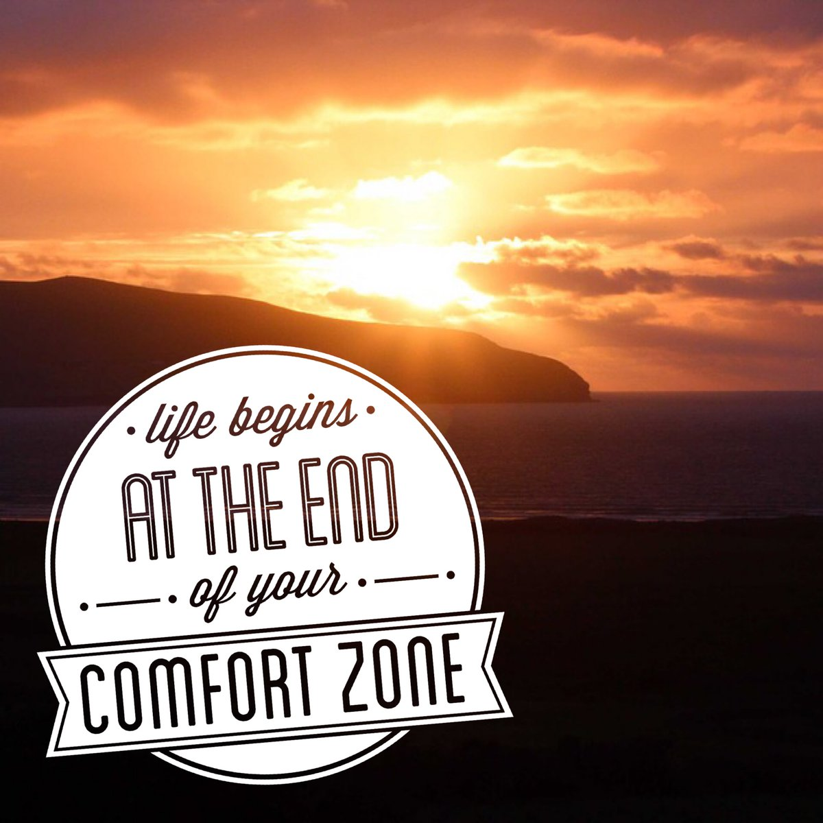 #LifeChangingTips #life #life #LifeLessons at the end of your #confort  zone. https://t.co/wyjJNvQaR1