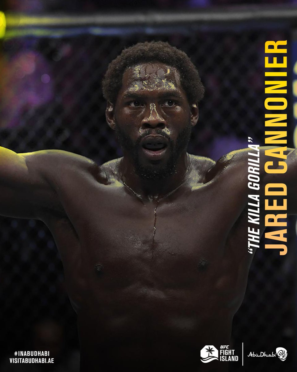 A man on a mission!   Jared Cannonier is in line to become the next #1 middleweight contender at #UFC254!  If he wins #InAbuDhabi, he will then face Israel Adesanya to battle for the belt!   Does he have what it takes?  #UFCFightIsland #UFC @UFC @VisitAbuDhabi https://t.co/poLQLQQlFR