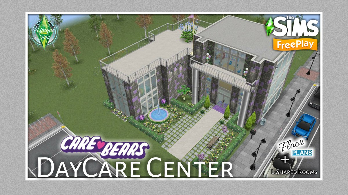 Unique Sims On Twitter The Sims Freeplay Care Bears Daycare Center Build Tour Floor Plan Https T Co A8yrbyvcsl Thesimsfreeplay Sims Showusyourbuilds Https T Co Dfjxvljuk1