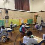 Image for the Tweet beginning: The third grade @ICSBronx has