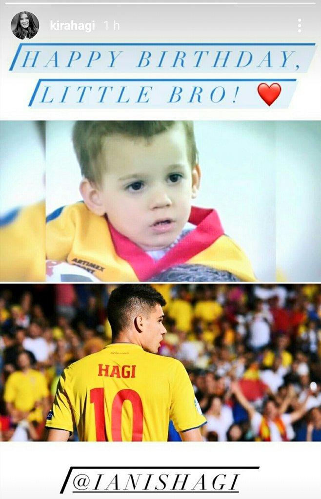 La Multi Ani, @IanisHagi10 ! 💙💛❤️ 🎂 👏🏼🥰  Happy Birthday to Ianis Hagi! (22) 🎉 ⚽ 🇷🇴 (from Brazil 🇧🇷)  #HappyBday #Romênia #IanisHagi https://t.co/IfiZeeeFBf