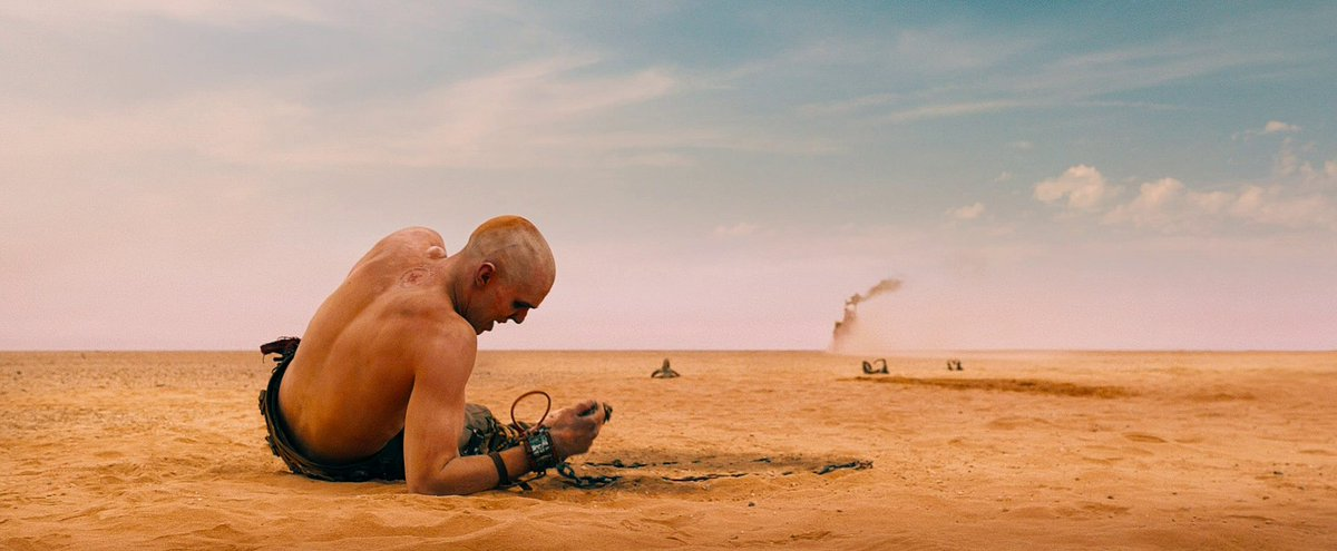 MAD MAX: FURY ROAD | 50 screencaps | https://t.co/bTwuUBzC31 Dir: George Miller DoP: John Seale #MadMaxFuryRoad  #screencaps #GeorgeMiller #JohnSeale #TomHardy #NicholasHoult #CharlizeTheron #cinematography https://t.co/kNx3Hm38Tu