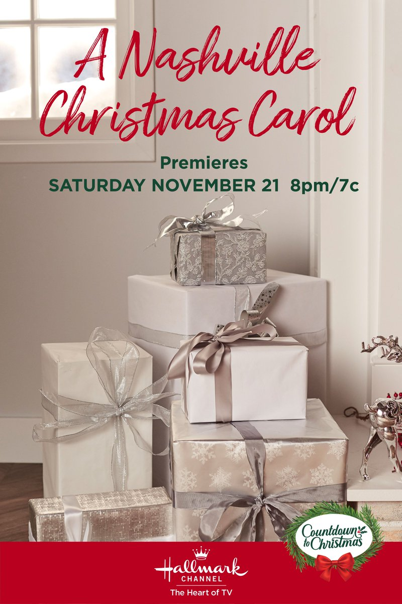 Ho Ho Holiday Viewing On Twitter Looks Like A Nashville Christmas Carol Might Be Back To Its Original Development Title A Nashville Christmas The Hallmark Channel Press And Main Public Sites Currently