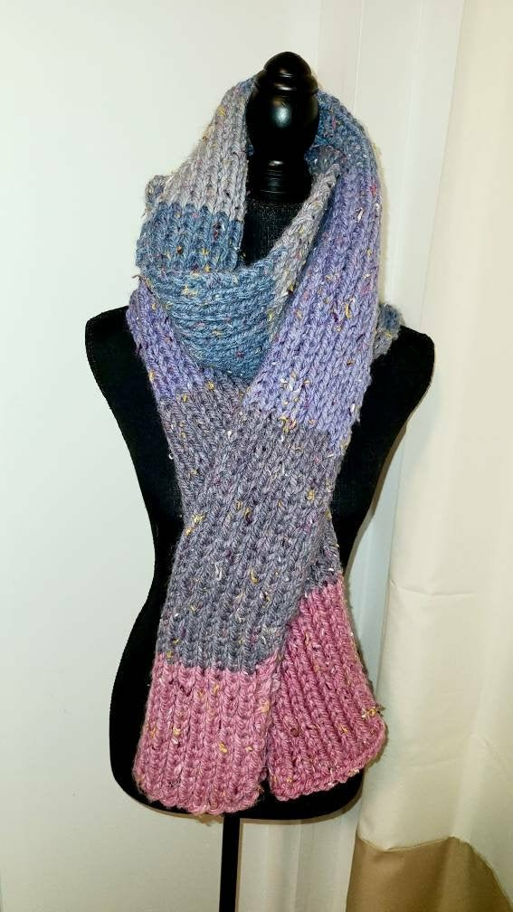 Excited to share the latest addition to my #etsy shop: Winter Knitted Scarf #handmade #lilac #flowerstagram #flower #crochet #tv_flowers #purple #lilacs #flowerpower #floweroftheday #crochetersofinstagram #still_life_gallery #はなまっぷ #tv_stilllife #tv_living #flowersandmacro https://t.co/SNh2VgIANe