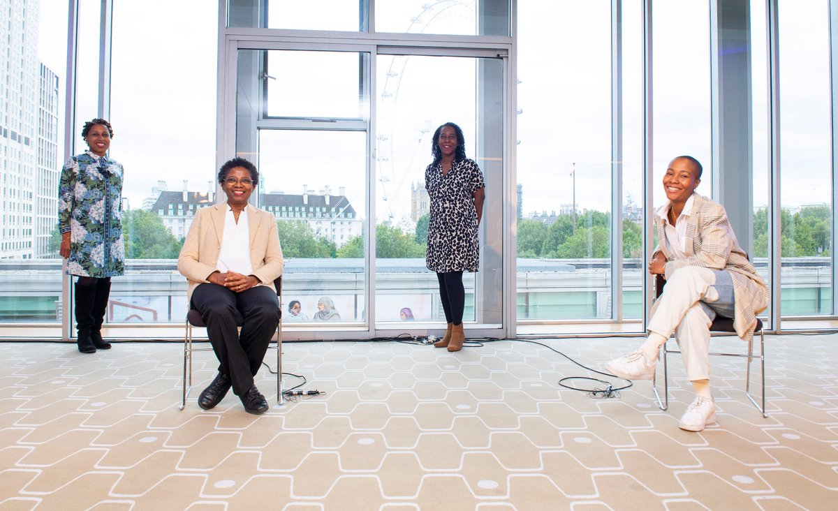 Last week @NicolaRollock joined journalist @LivLittle and fellow academics @FunmiOlonisakin & @TAReynolds12 for a timely discussion prompted by Dr Rollocks exhibition, Phenomenal Women. Missed it? Good news! You can now watch it here: bit.ly/2HixZUh 📸 Elliott Franks
