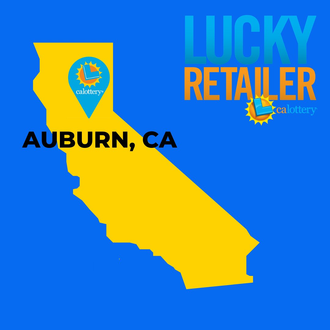 Double the luck! Both a #LuckyRetailer and a millionaire were made in Placer County when a Set For Life #Scratchers ticket purchased in Auburn won $6 million! The winning ticket was purchased at Cigarettes For Less, located at 350 Elm Ave in Auburn. Who will win next? https://t.co/BUOrpR0l4U