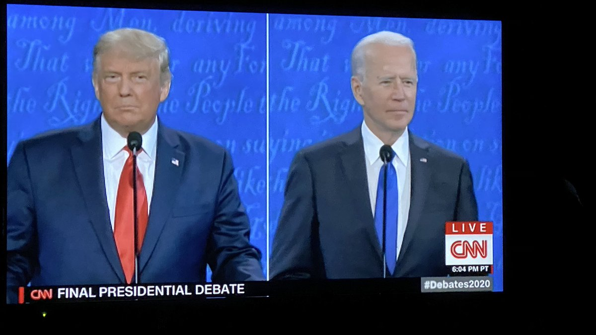 Here we go. #PresidentialDebate2020
